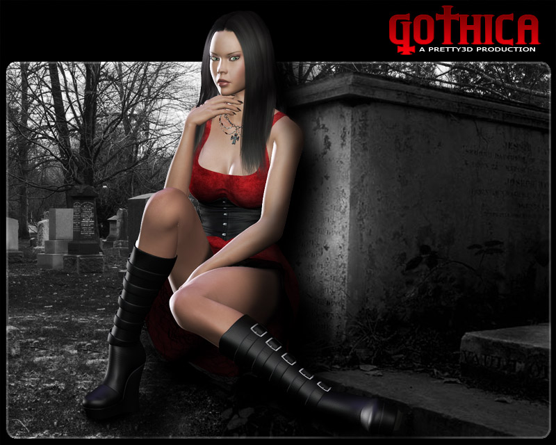 Gothica by Pretty3D
