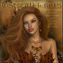Instant Hair! 15 2D Graphics ilona