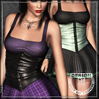 ANXIETY for Gothica by Pretty3D Themed Clothing outoftouch