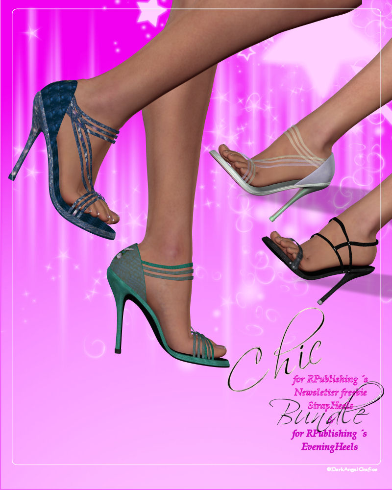 Chic ~ Bundle for RPublishings Heels