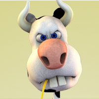 Ol  MacHerbert - Herbert the Cow 3D Models 3D Figure Essentials jonnte