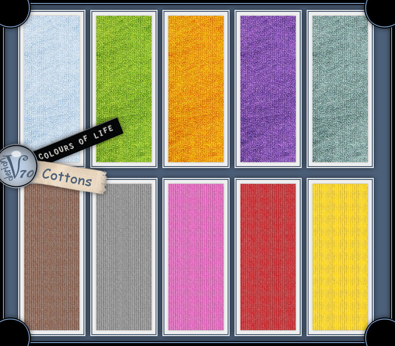 Colours Of Life:Cottons