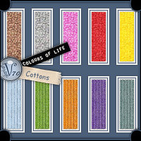 Colours Of Life:Cottons 2D Graphics Valerian70