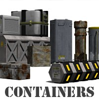 Containers 3D Models RubiconDigital