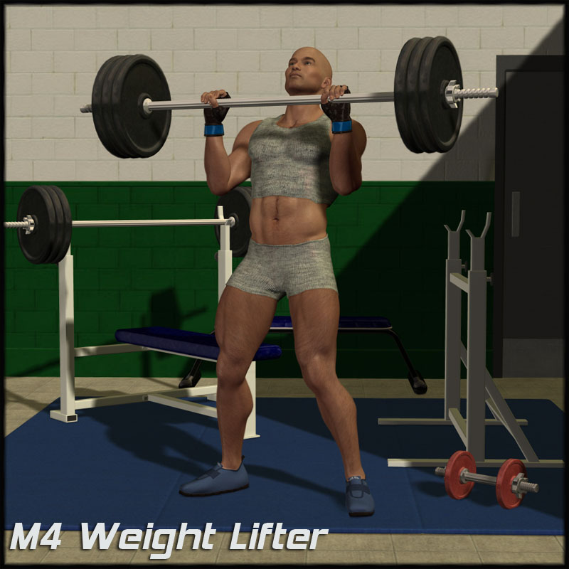 M4 Weight Lifter Set