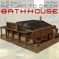 Return To Driza: Bathhouse 3D Models IanMPalmer