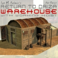 Return To Driza: Warehouse Themed Props/Scenes/Architecture IanMPalmer