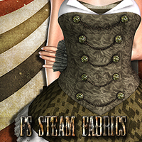FS Steam Fabrics Merchant Resource 3D Models 2D Graphics FrozenStar