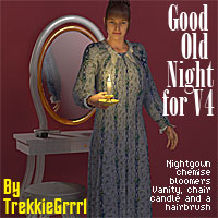 Good - old - Night 3D Figure Essentials 3D Models TrekkieGrrrl