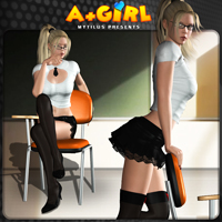 A plus Girl for V4/A4/G4/PBIV 3D Models 3D Figure Assets mytilus