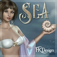 SEA - Water and Air 3D Figure Assets 3D Models fabiana