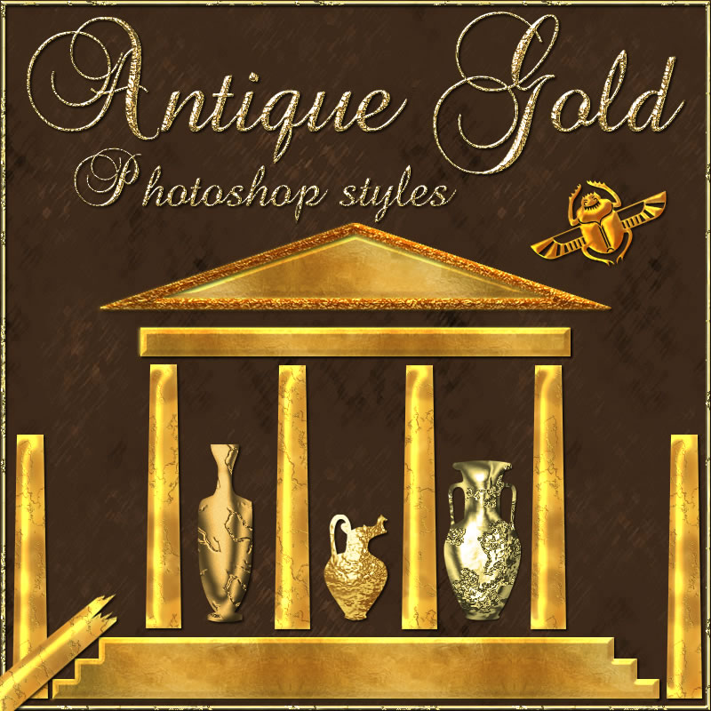 Antique Gold Styles