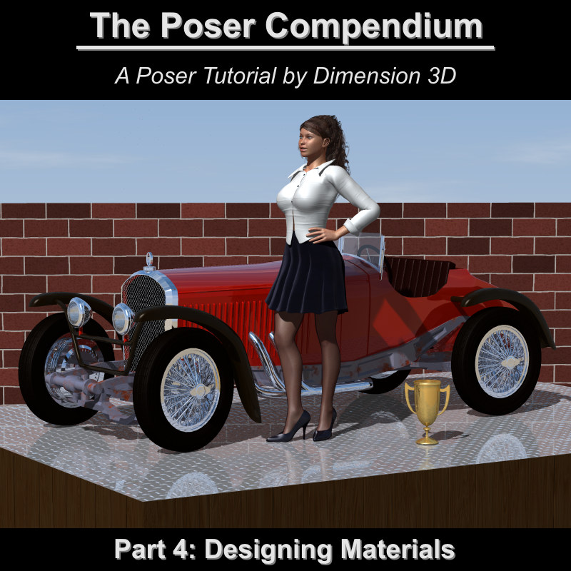 Designing Materials - The Poser Compendium Part 4