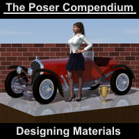 Designing Materials - The Poser Compendium Part 4 Tutorials Dimension3D