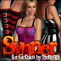Synner for Gothica Clothing ShanasSoulmate