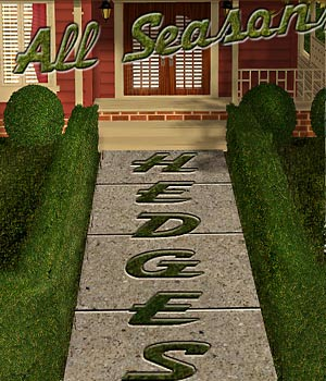 Landscaping Hedges 3D Models RPublishing