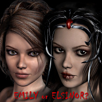 Emily ~ Elsinor 3D Models 3D Figure Essentials LMDesign