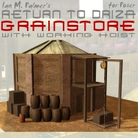 Return To Driza: Grain Store 3D Models IanMPalmer