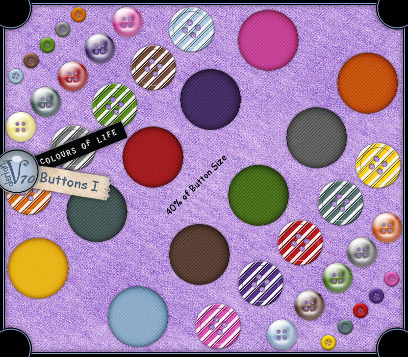 Colours Of Life:Buttons I