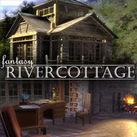 IN Fantasy RiverCottage 3D Models winnston1984