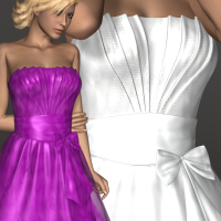 Evening Dress Clothing 3D-Age