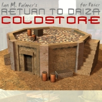 Return To Driza: Cold Store Themed Props/Scenes/Architecture IanMPalmer