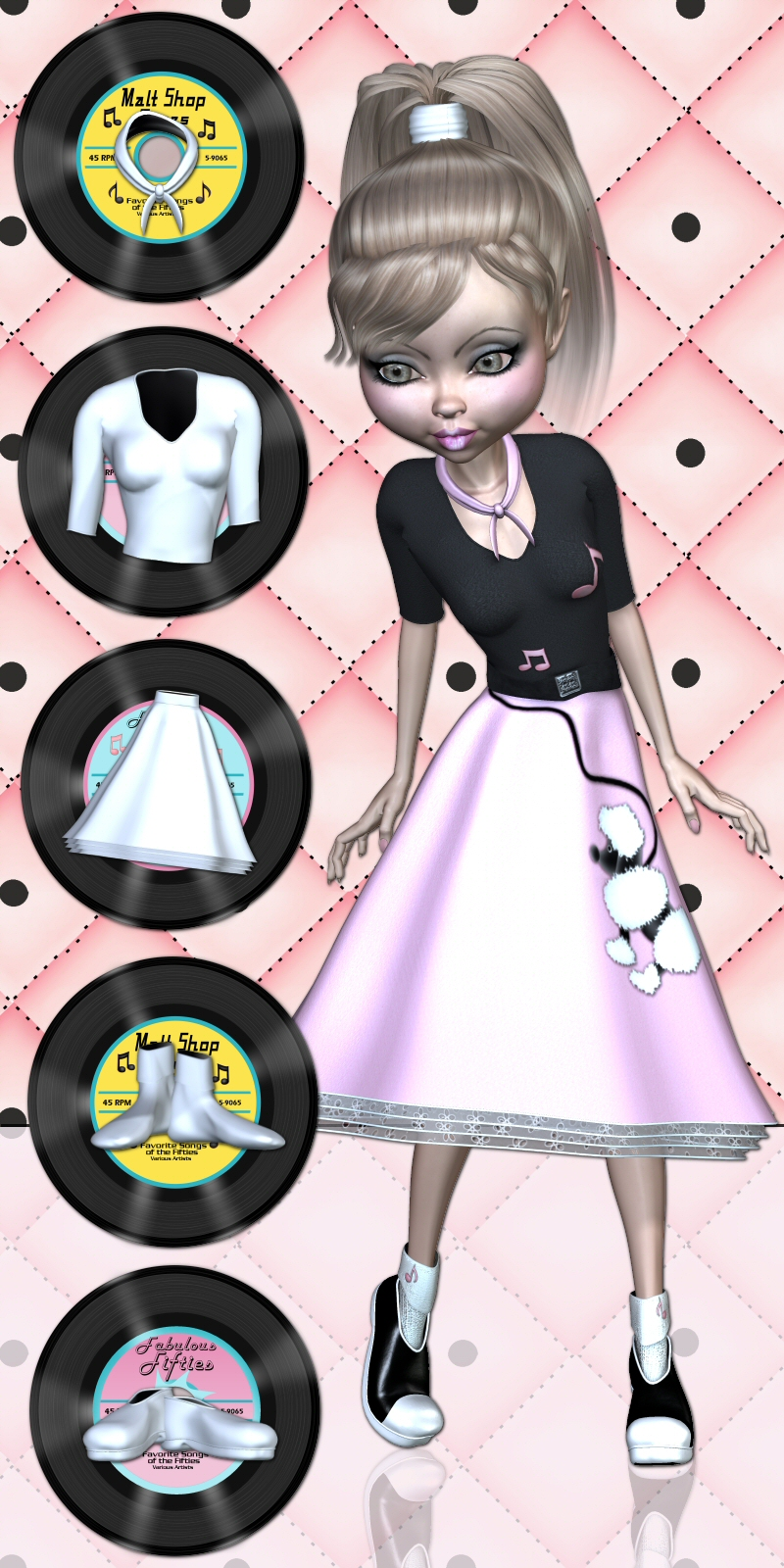 Mavka 50s Poodle Outfit