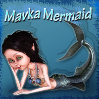 MavkaMermaid 3D Models smay