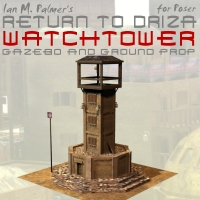 Return To Driza: Watchtower Props/Scenes/Architecture Themed IanMPalmer