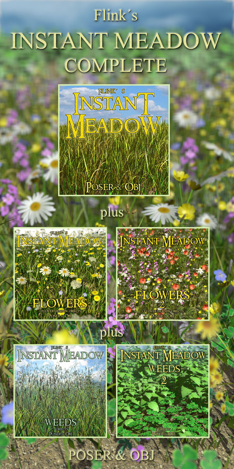 Flinks Instant Meadow Complete