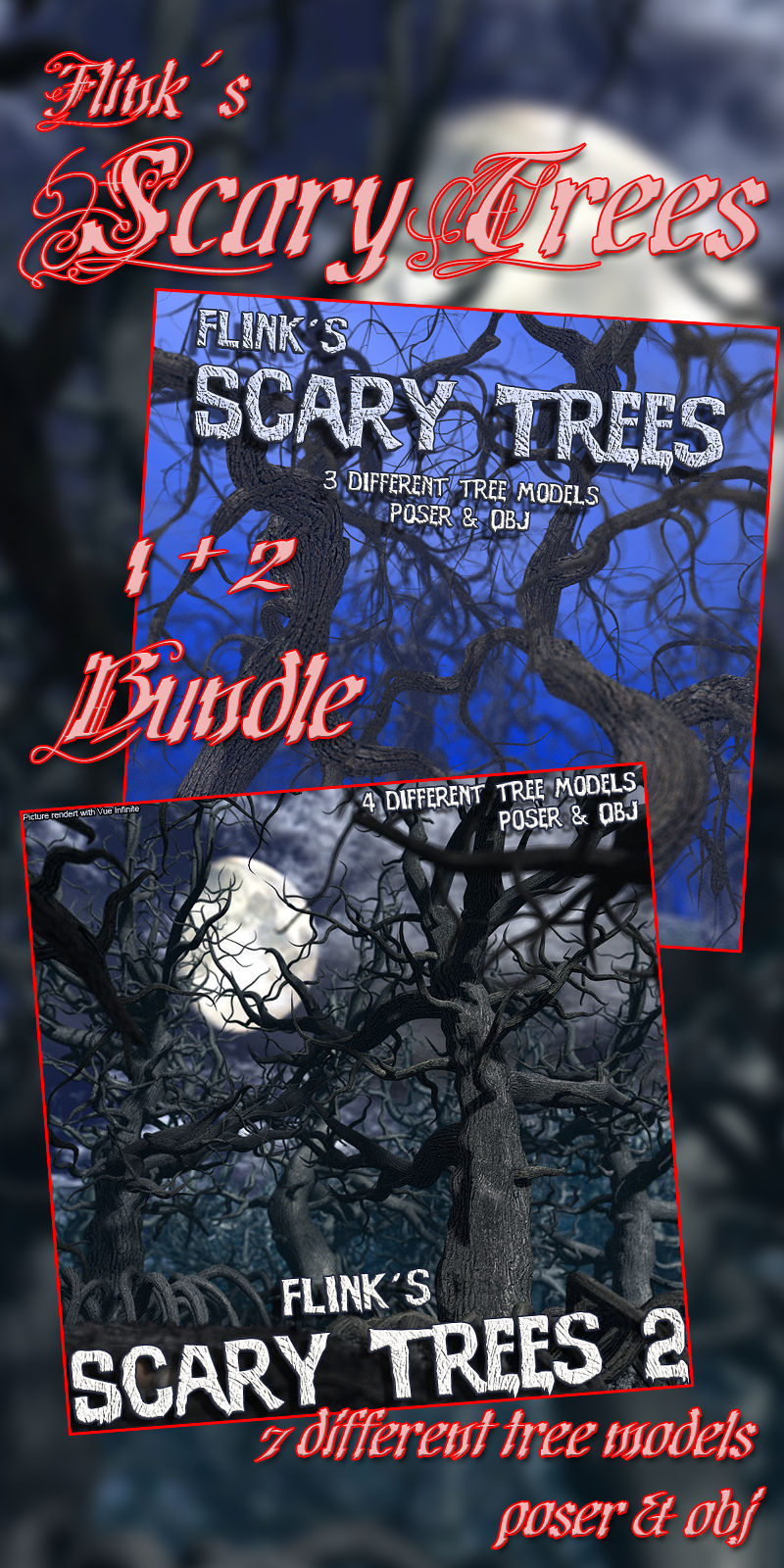 Flinks Scary Trees 1+2 Bundle