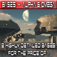 Base Alpha & Base Omega Themed Props/Scenes/Architecture Madaboutgames
