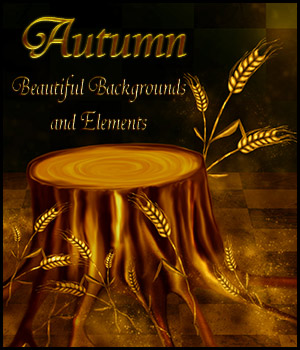 Autumn 2D Graphics 3D Models antje