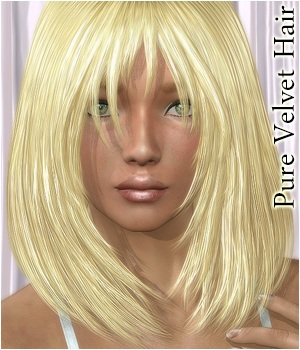 Pure Velvet Hair 3D Figure Assets 3Dream