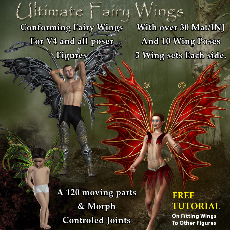 Ultimate Fairy Wings