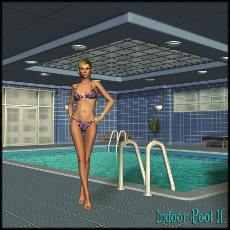 Indoor Pool II Set