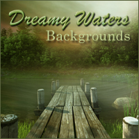 Dreamy Waters Themed 2D And/Or Merchant Resources -Melkor-