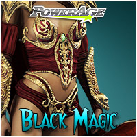 Black Magic 3D Models 3D Figure Assets Legacy Discounted Content powerage
