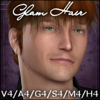 Glam Hair Software Hair -Wolfie-