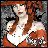 Magick For Witchery 3D Figure Essentials 3D Models SpookieLilOne