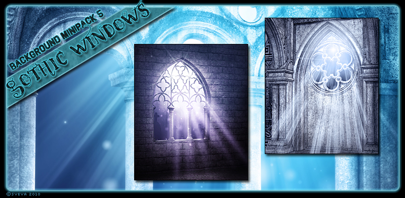 Background Mini-Pack 05: Gothic Windows