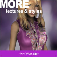 MORE Textures & Styles for Office Suit Themed Software Clothing motif