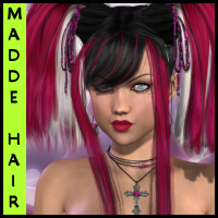 Madde Hair  3D Figure Essentials Propschick