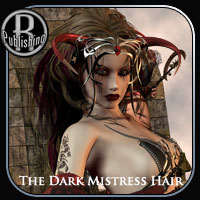 The Dark Mistress Hair, V4,A4,G4,S4 Hair Themed RPublishing