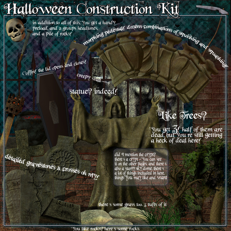 Halloween Construction Kit