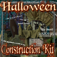 Halloween Construction Kit Themed Props/Scenes/Architecture ironman13