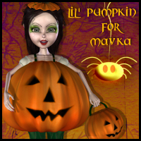 LiL Pumpkin for Mavka Themed Props/Scenes/Architecture Stand Alone Figures Propschick