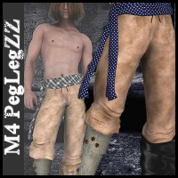 M4_PegLegZZ_Vol1 Themed Clothing WhopperNnoonWalker-