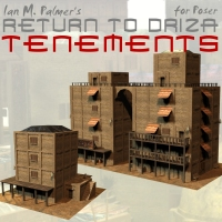 Return To Driza: Tenements Themed Props/Scenes/Architecture IanMPalmer