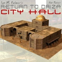 Return To Driza: City Hall 3D Models IanMPalmer